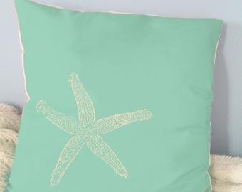 Starfish Throw Pillows- 16x16in