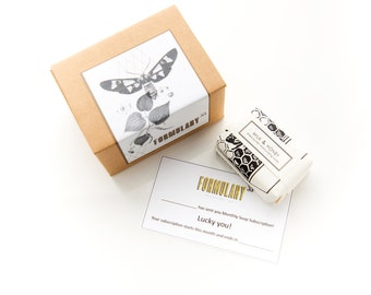 Subscription Box - Yearly Soap of the Month Club Subscription – 12 bars for 12 months