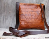 Eel Skin Cross Body Bag by Stacy Leigh Ready to Ship