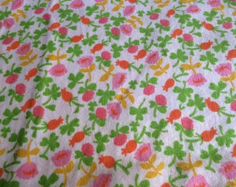 100% Cotton Knit by Heather Ross - 1 Yard - Cotton Fabric / Fabric by Yard / New Fabric / Sewing Supplies / Knit by Yard / Knit Fabric