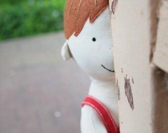 Arthur Cabbage : boy doll pattern, cloth doll, Doll sewing pattern, doll with clothes, boy doll, doll clothes pattern, rag doll, doll PDF