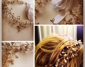 pearls and crystal headband