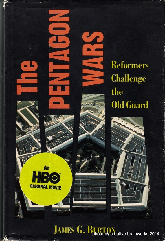 the pentagon wars From the late 1960s through the mid-1980s, a small band of military activists waged war against corruption in the pentagon the pentagon wars.