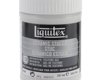 Liquitex Ceramic Stucco Acrylic Texture Gel. CLEARANCE
