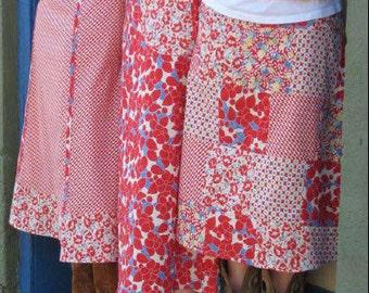 Street Fair Skirts Sewing Pattern Women's Sizes 2-10