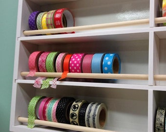Ultimate Washi Decorative Tape Storage Organizer for Wall Hanging