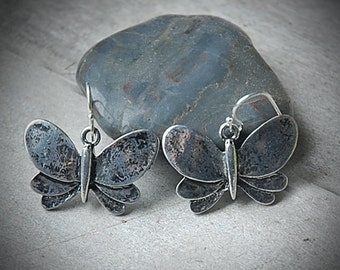 Butterfly Earrings - Fall, Moth, Nature Inspired