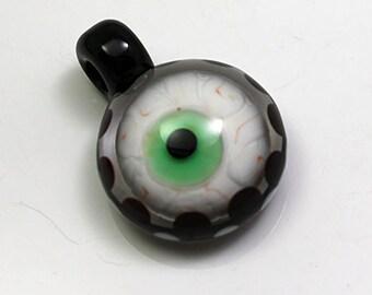 Eye See you Pendant   Brad Pearson Lampwork SRA