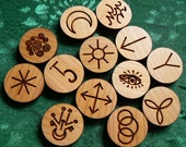 13 Witches Round Runes