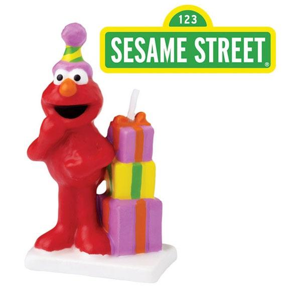 Elmo Birthday Candle Elmo Birthday Elmo Cake Decor By