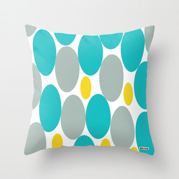 Modern Pillow Covers Etsy : Items similar to Decorative throw pillow cover - Modern pillow cover - Couch pillow - Spring ...