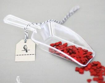 4 Clear Acrylic Candy Scoops DIY Wedding Candy Bar