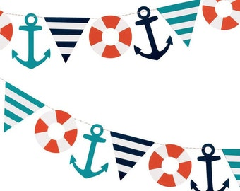 The NAUTICAL Fare - Nautical Garland Decoration