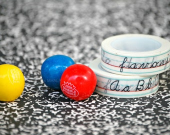 BACK TO SCHOOL Great Parties - Washi Paper Tape from Mary Had a Little Party