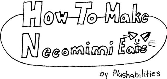 how to make your own cat ears