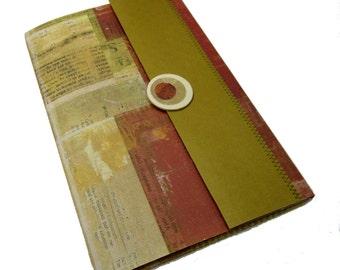Notebook Portfolio - Blank Book Journal - Travel Journal