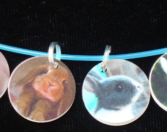 STITCHMARKERS for KNITTERS or CROCHETERS, Bunny Love