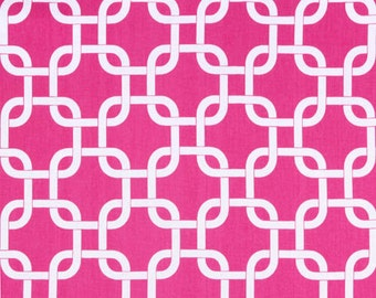 CANDY PINK Premier Prints Fabric by the Yard. Gotcha Hot Pink Fabric. More than One Yard Destash. Home Decor Cotton Fabric Yardage