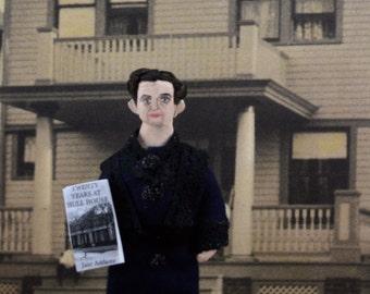 Jane Addams Doll MIniature Historical Women Art Character