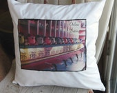 Handmade Throw Pillows with Vintage Images