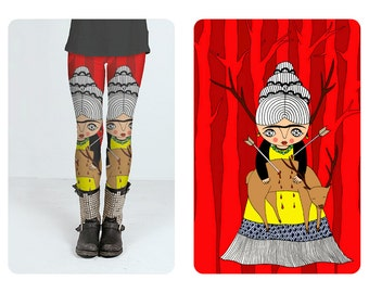 Leggings - Frida Kahlo - Oh Deer Frida