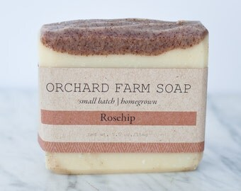 Rosehip Soap//Nourishing Soap//Natural Soap