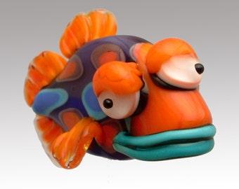 Aardvark's GUS The Three-Eyed Fish Bead