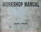 Isuzu Diesel Engine D A Series Workshop Repair Manual