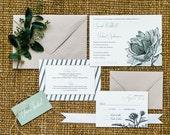 Farmer's Market Wedding Invitation Deposit