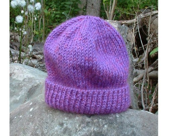 Warm Baby Watch Cap Pattern