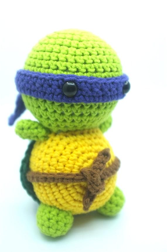 TMNT Donatello Ninja Turtle Amigurumi Crochet