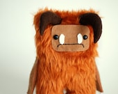 Labyrinth Ludo Fur Goblin David Bowie. Jim Henson. 15cm