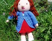 PDF Knitting Pattern - Sandrine