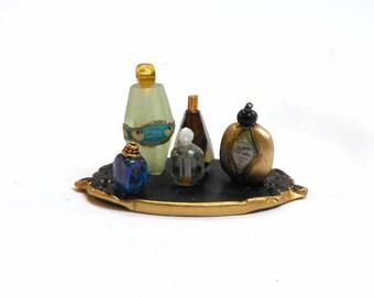 Miniature Perfume Vanity set 2
