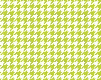 Houndstooth in Lime (C970-32)