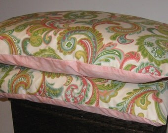 Ready to ship- TWO Standard  Pillowcases in Cotton