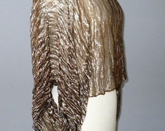 Metallic Silk Copper Hug