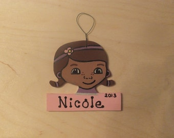 Doc McStuffin Christmas Ornament Personalized