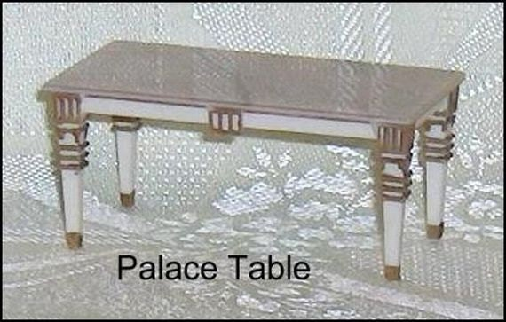 Palace table coffee table petite princess ideal vintage - Petite table haute ...