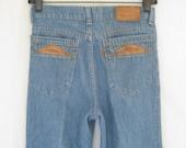 Vintage 1980s Levis  Olympics BootCut  Denim Jeans. Small