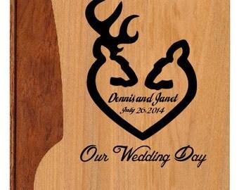 Personalized Photo Album,Custom Photo Album,Wedding Album,Tree of Life,Maple & Walnut Album