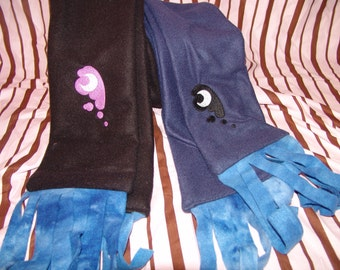 MOON PONY Fleece Scarf