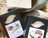 COCONUT LEMON GRASS Coconut Milk Handmade Soap