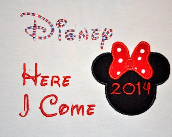 Minnie Mouse Disney vacation shirt