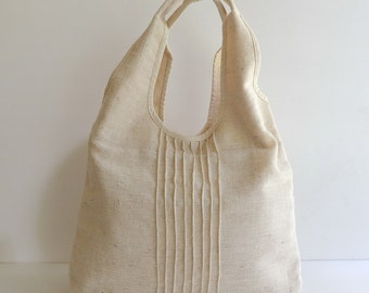 Sale - Natural Hemp/Cotton Tote, shoulder bag, handbag, unique, diaper, stylish, purse, women, casual  - MAY