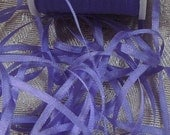 Gorgeous 2mm silk ribbon Purple  5 yards#582