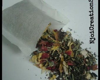 Conditioning Herbal Hair Rinse Tea Bags-now w/BLACK TEA helps w/shedding and hair growth