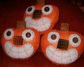 Prim Fall Pumpkin Ornies, Bowl Fillers