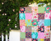 40x56 Lucky Girl Floral Throw