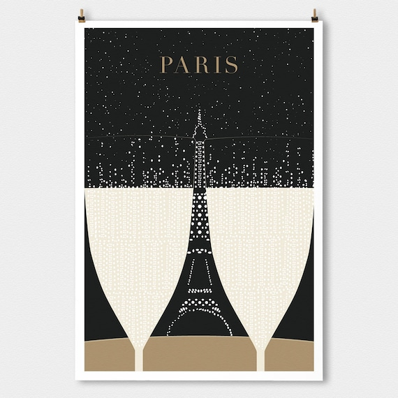 Art deco illustrations the paris print shop for Deco in paris